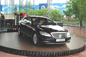 Rotating Auto Display Stage, Revolving Auto Display Turntable