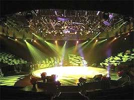 Rotating Theater Stage Rental, Revolving Display Turntable Rental