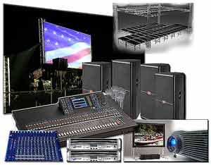AMEREVENT audio and video rental. Best price GUARANTEE!