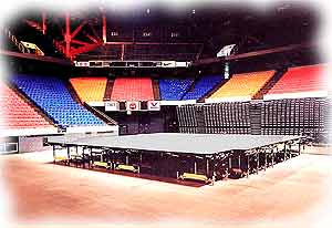 AMEREVENT stage rental. Best price GUARANTEE!