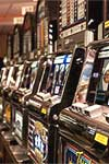 SLOT MACHINE ONE ARM BANDIT CASINO PARTY TABLE RENTAL.