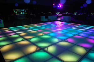 Portable dance floors wood parquet dance floor marble dance floor for your own private studio 54 experience custom lighted dance floors are like nothing else computerized led lights move and change colors and patterns tyukafo