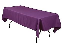 Delightful Purple Tablecloth