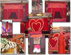 Moulin Rouge Theme Decor Props