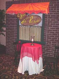 Paris Eiffel Tower Party Rentals Moulin Rouge Theme
